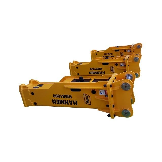 Excavator Hydraulic Breaker Hammer Rock Breaker Hydraulic Jack Hammer