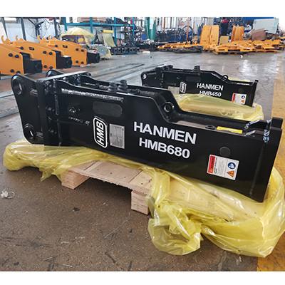 korean brand hydraulic attachment sb40 hydraulic rock breaker hammer for 6t excavator