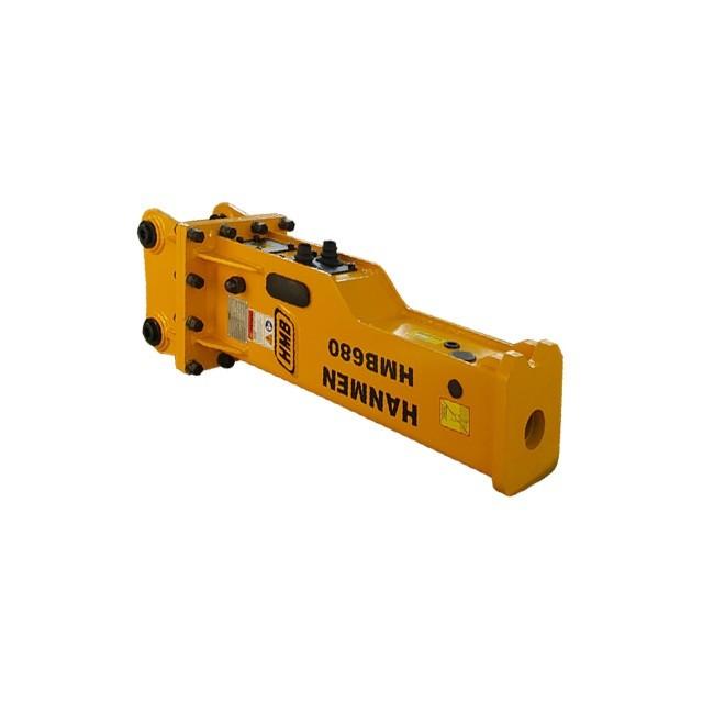 rock breaker attachment hmb hydraulic breaker for komatsu excavator for sale