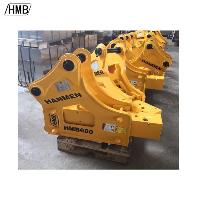 yantai hydraulic breaker hydraulic concrete breaker side type hydraulic breaker sb40