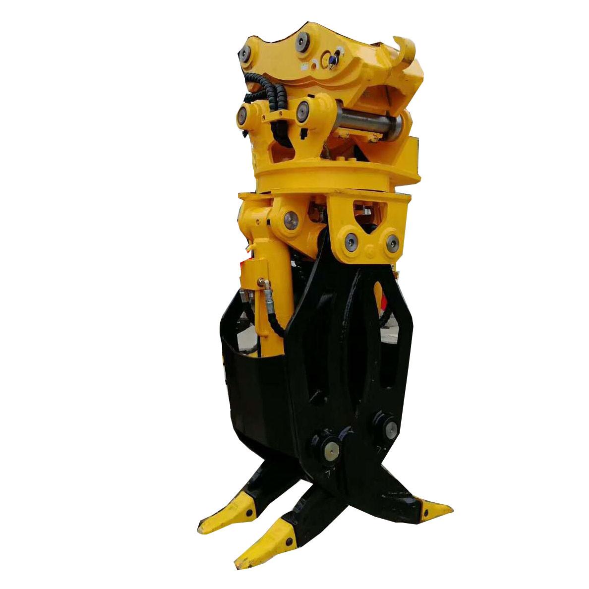 rotating grapple excavator grapple hydraulic grapple