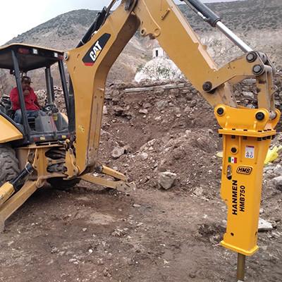 CE Approved 2.5-4.5 Ton Hanmen Hmb Sb43 Martillo Hidrulico Jcb Parts Hydraulic Breakers