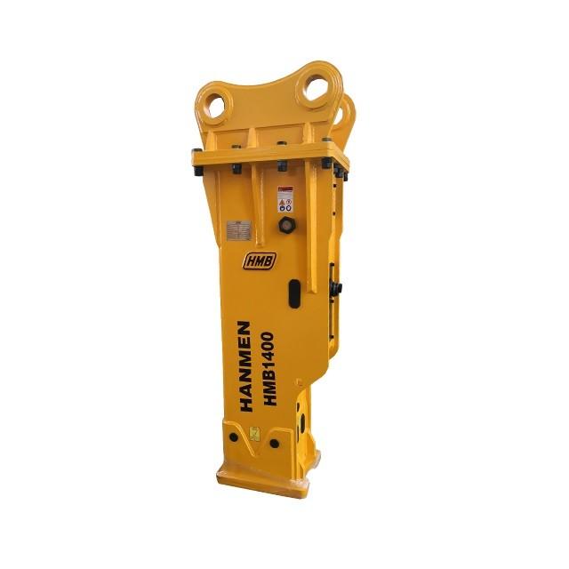 soosan sb81 excavator hammer demolition hydraulic breaker hydraulic rock breaker with 140mm chisel