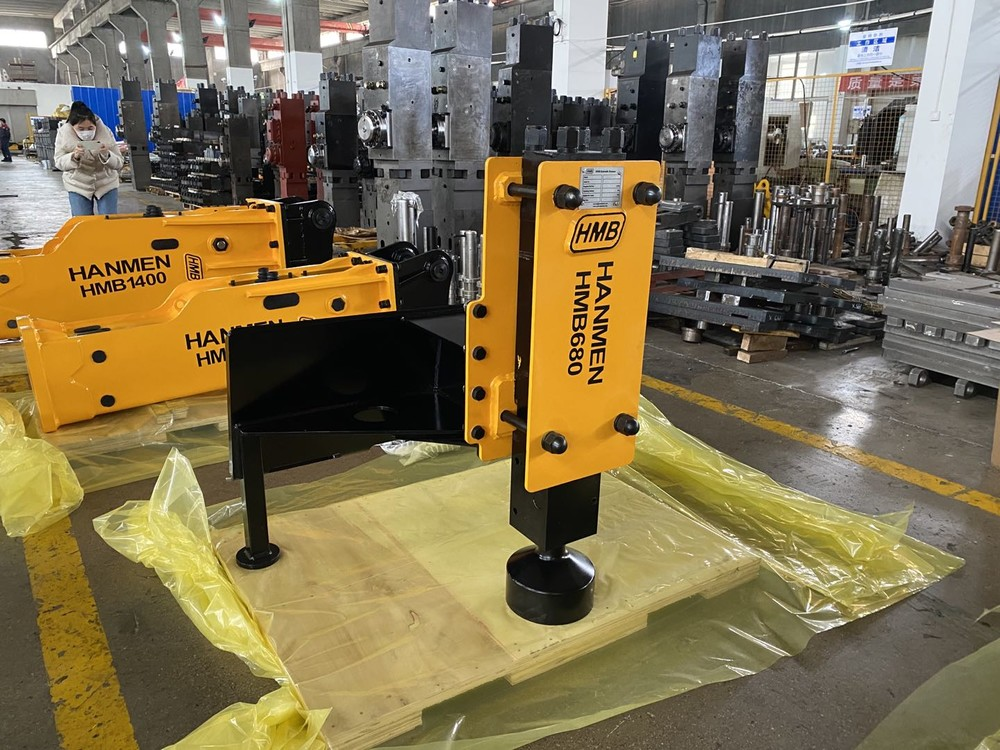 Factory Price China Excavator Hydraulic Driver Posts Skid Steer fence post drivers Hydraulic for tractor Wholesale-HMB