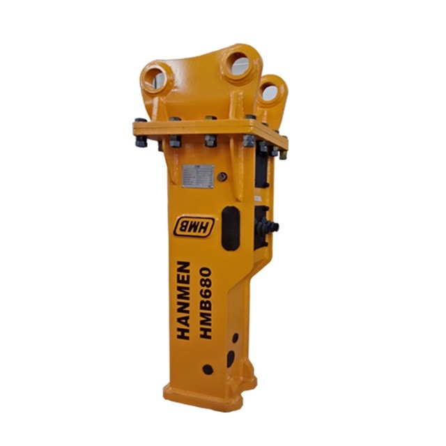 china oem factory hydraulic breaker spare parts chisel 68mm hydraulic hammer for 3-7t excavator