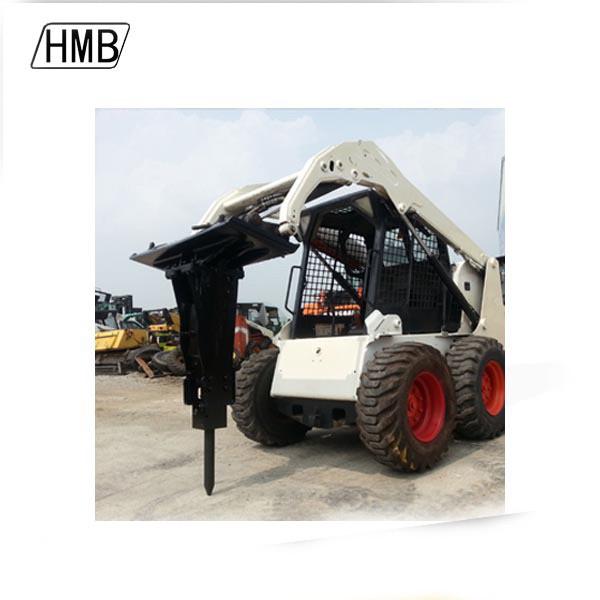 mini skid steer loader hydraulic breaker mounted china jcb excavator attachment