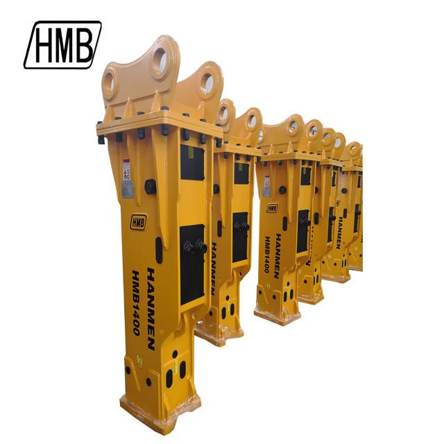 hydraulic breaker supply soosan sb81 hydraulic breaker for sale with 140mm chisel