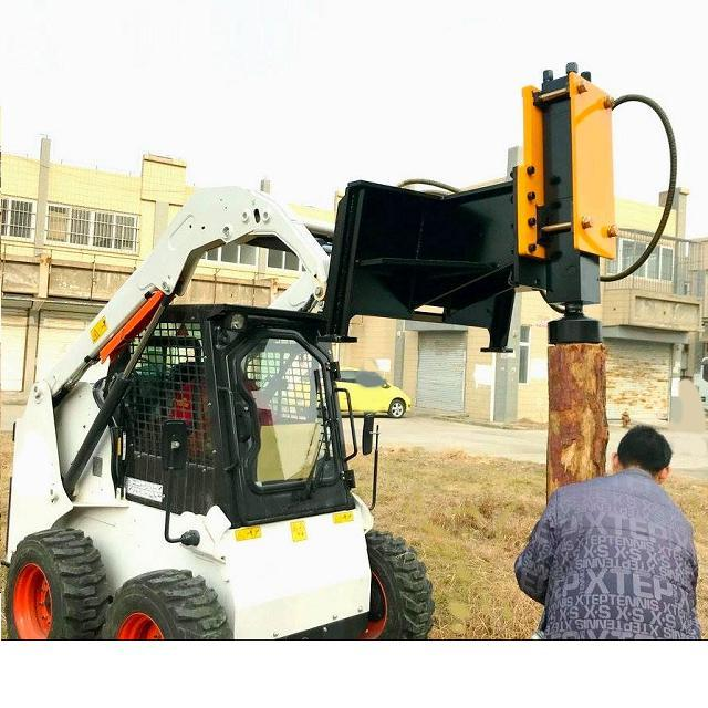 Customized best price hydraulic jack hammer mini excavator post driver post pounder for sale From China