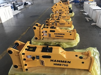 Best digger hydraulic rock breaker chisel hydraulic breaker parts HMB750 side type hydraulic breaker Oem With Good Price