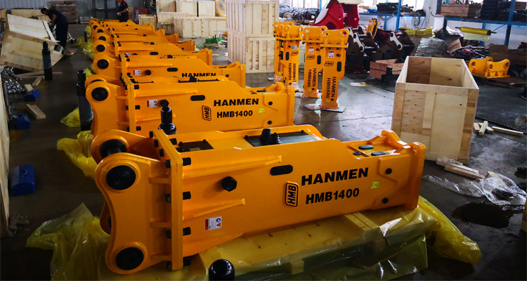 powerful silenced type hydraulic tool hammer rock breaker for excavator for sale