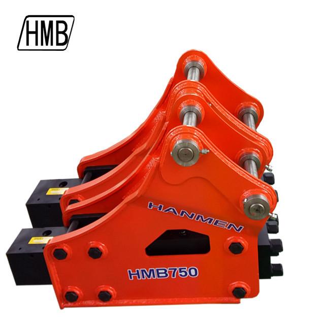 Construction Equipment HMB750 Excavator Hydraulic Breaker Concrete Hydraulic Hammer Rock Breaker