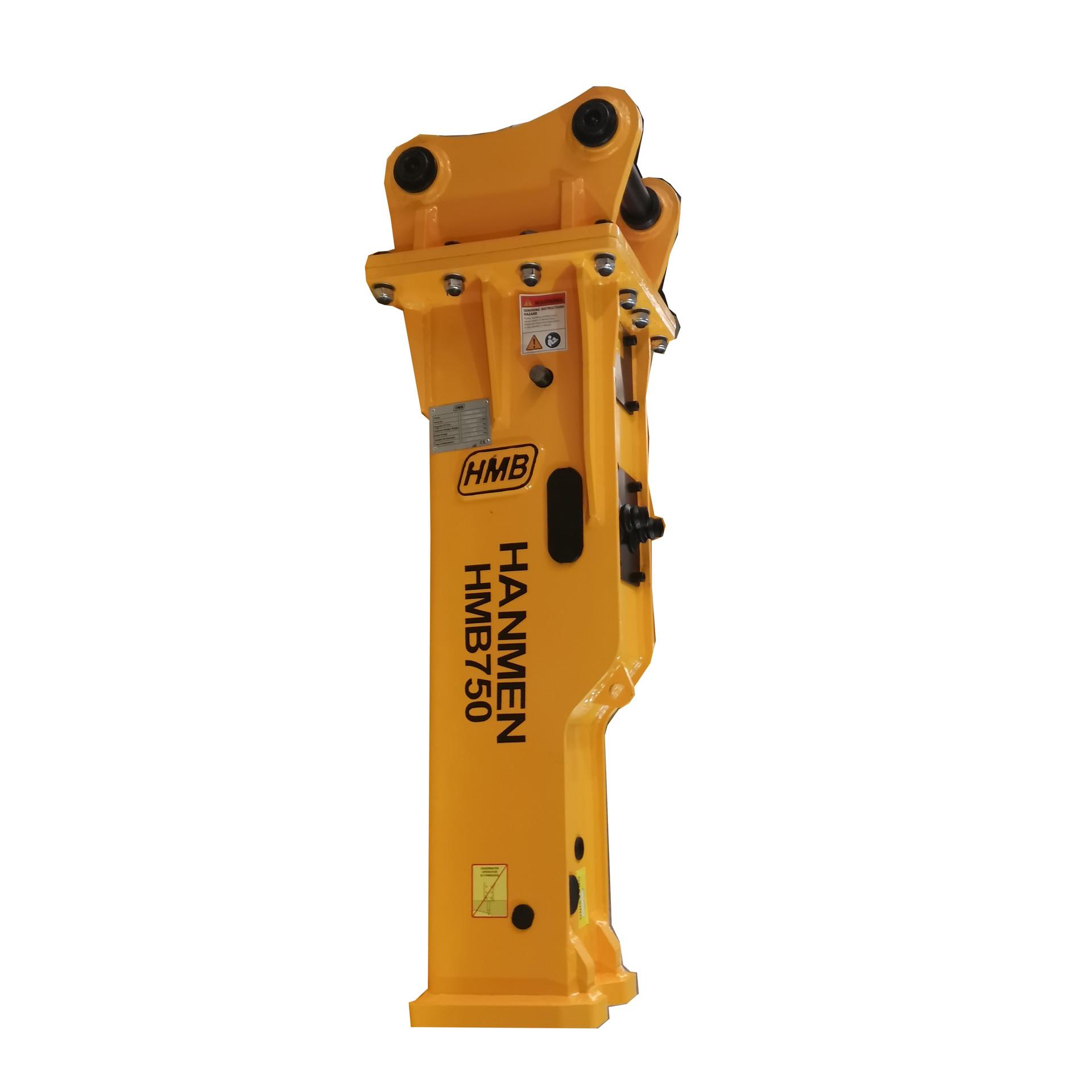 100mm chisel PC100 Silent Type Excavator Demolition Hydraulic Hammer Breaker for 10-15 ton excavator
