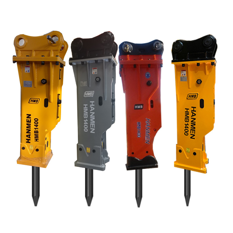 korean Concrete Rock Hydraulic Breaker Hydraulic Hammer with Chisel 140mm for Excavator