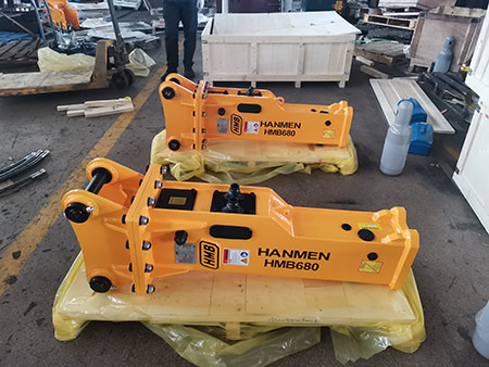 Factory Price Side/Top/Box type Hydraulic Hammer Excavator Jack Hammer for 4 - 9 Ton Excavator
