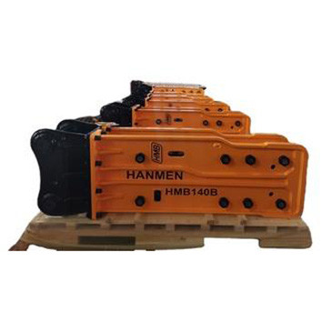 HMB1550 open type Hydraulic Hammers Hydraulic Breaker sb121 with 155mm chisel