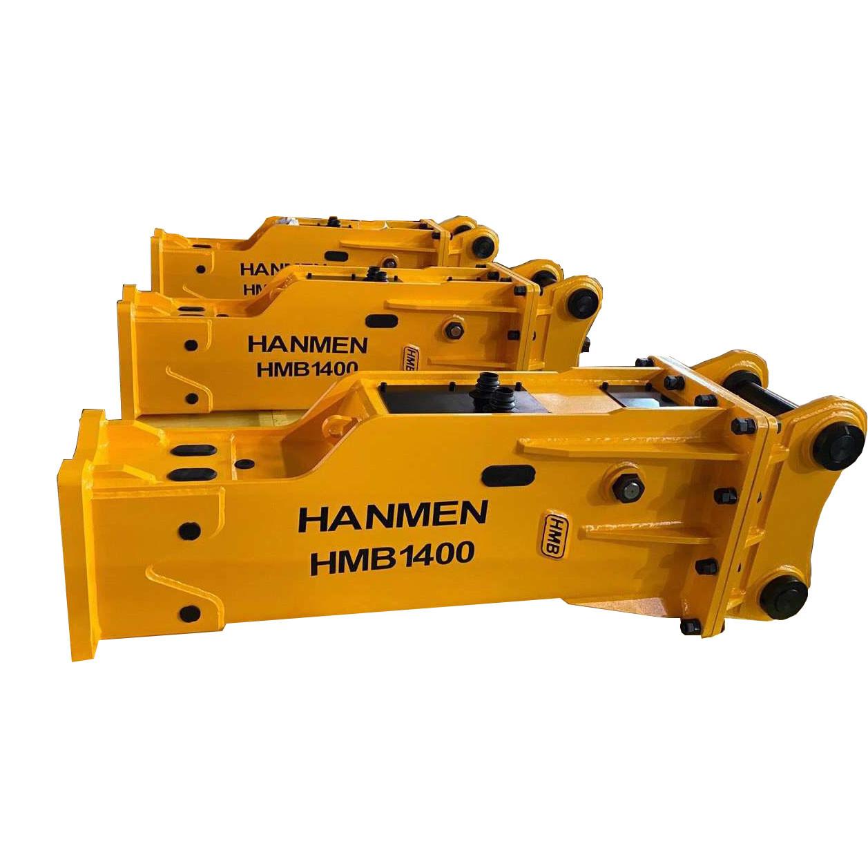 soosan sb81 Concrete Demolition Hydraulic Rock Breaker for 3ton 12ton 18ton 20ton Excavator Digger