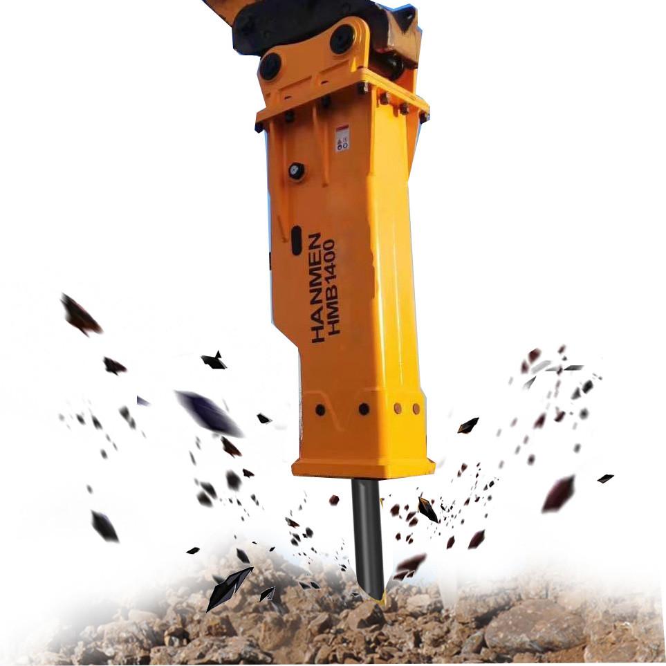 High Quality Construction Equipment Concrete Demolition Hydraulic Breaker Rock Breaker for excavator pc200
