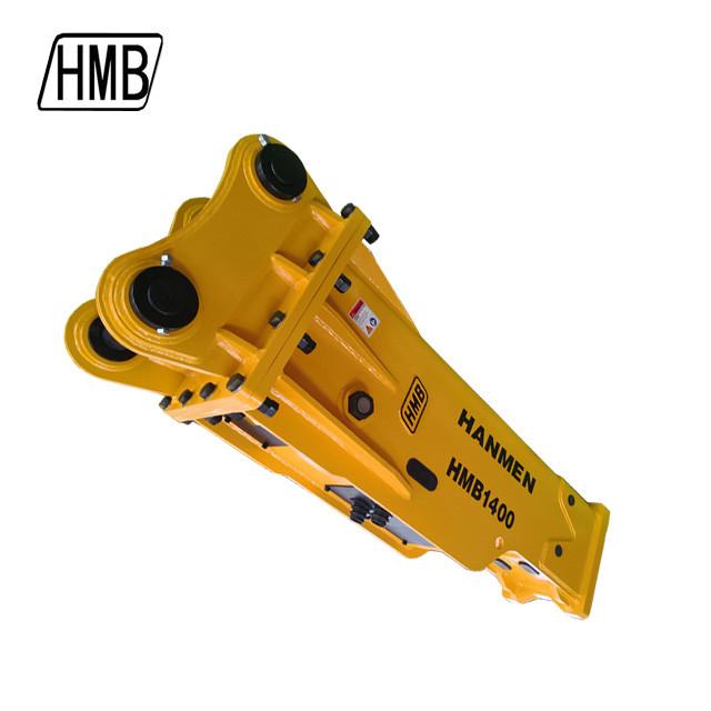 SOOSAN SYSTEM Excavator Rock Hammer Hydraulic Breaker hydraulic hammer breaker with chisel 140mm