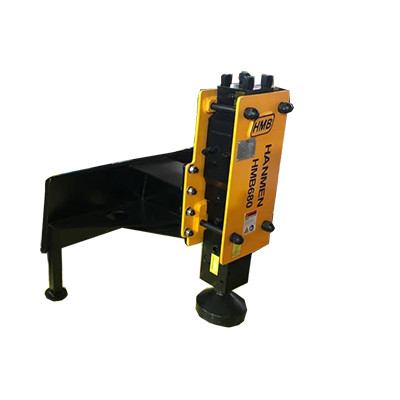 Excavator Skid Steer Post Pounder Pile Driver fence hydraulic Post Driver  for Sale in USA Market