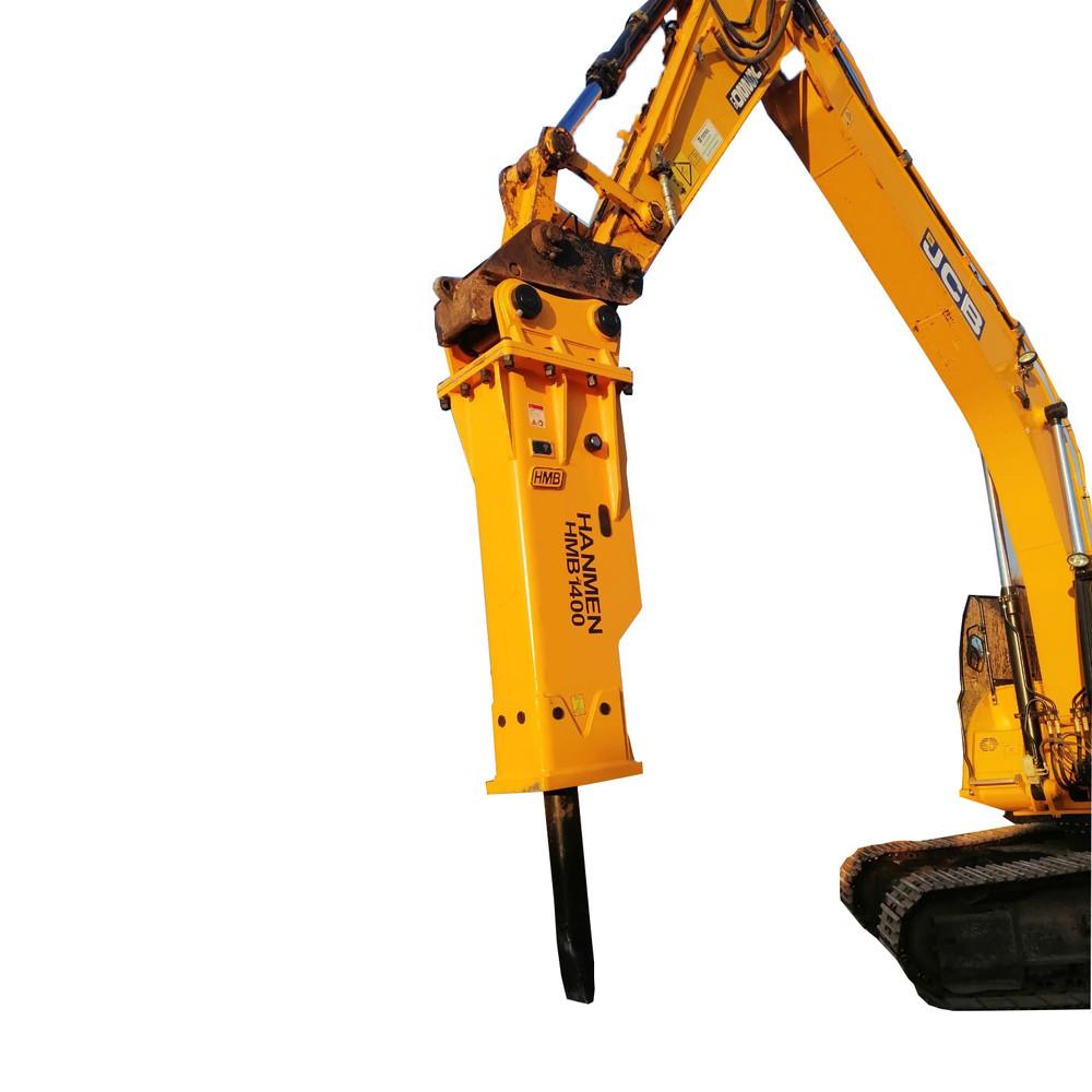 Oem free hanmen hydraulic breaker hydraulic hammer silenced type hammer for excavator For Sale