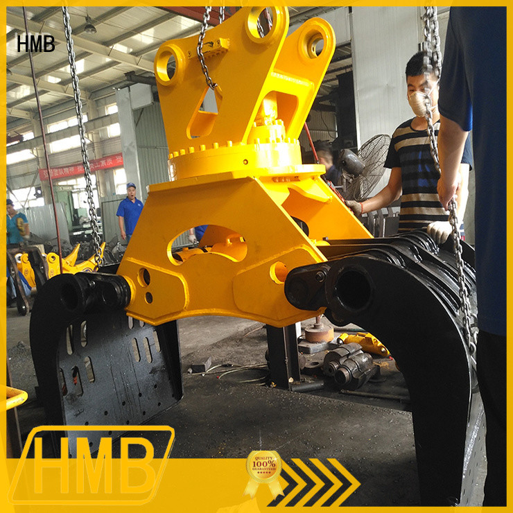 Best demolition grapple in China for wastes handling