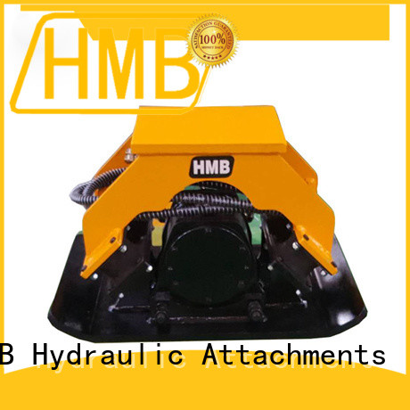 HMB high strength structural hydraulic plate compactor excavator China for loading weathered rock