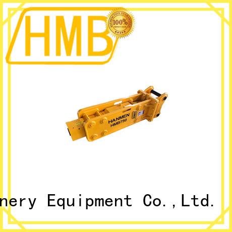 HMB mining attachments China for broken concrete pavement