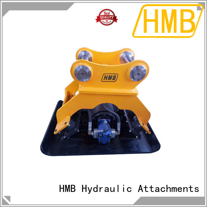 HMB excavator plate compactor for sale Oem for loading secondary-hard stone