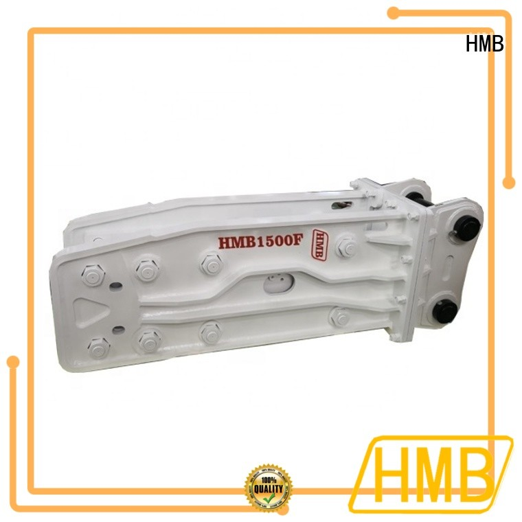 High-quality excavator breaker attachment from China for bridge demolition