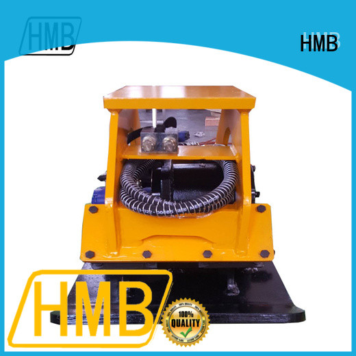 HMB vibratory plate compactor for excavator Customization for loading of hard soil