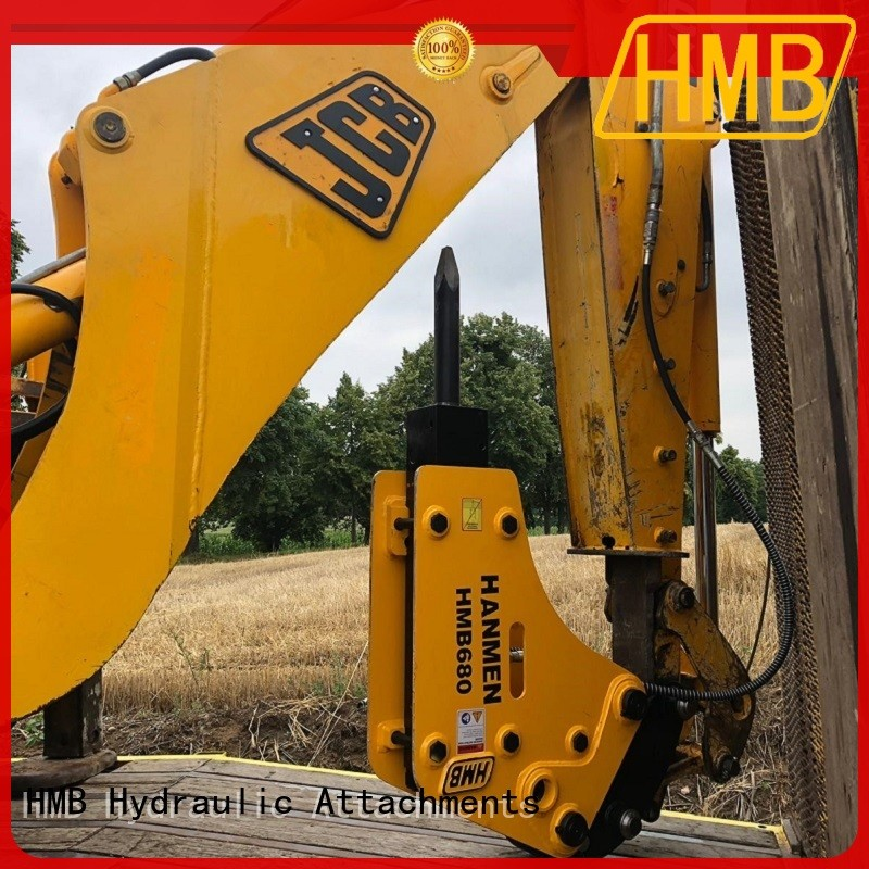 mega impact working power excavator hydraulic hammers for sale Suppliers for Concrete crushing
