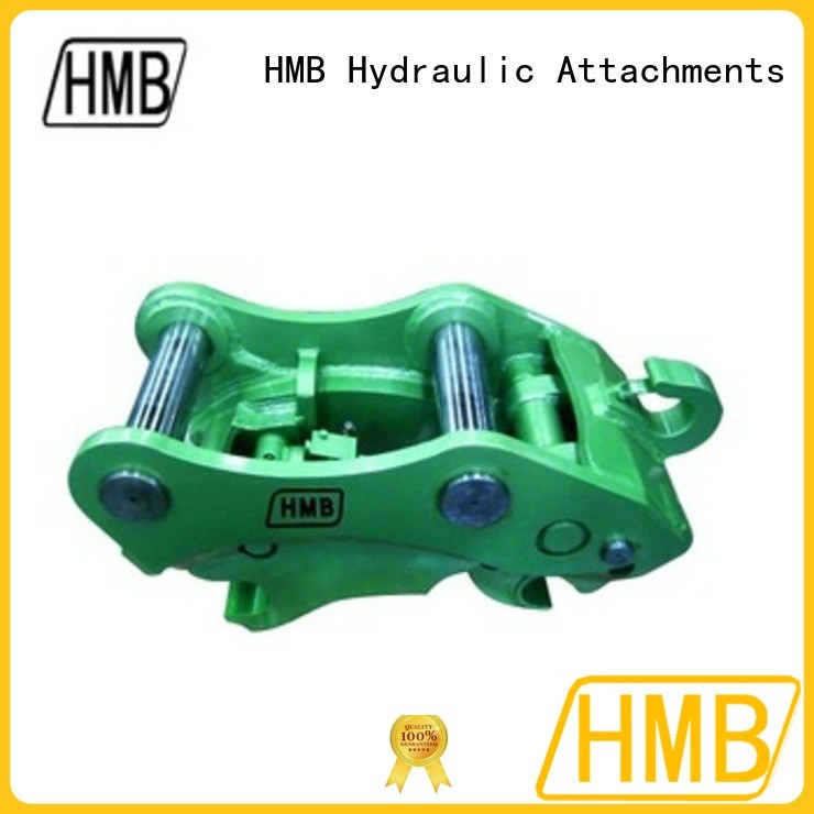 HMB safe and convenient excavator quick hitch suppliers company for hydraulic shears