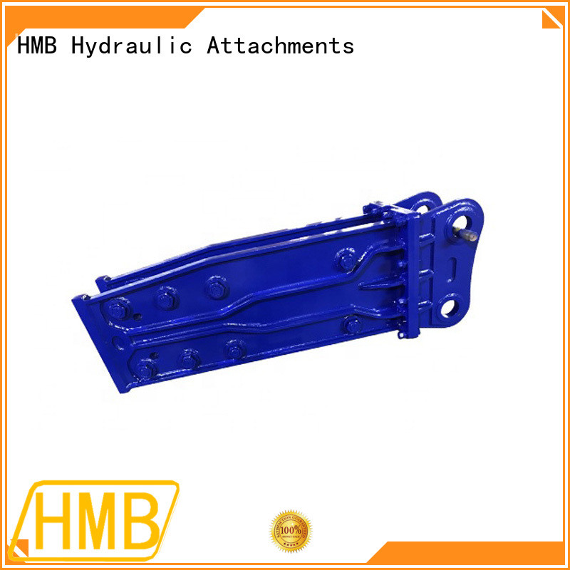 HMB excavator hydraulic hammers for sale factory for concrete crushing