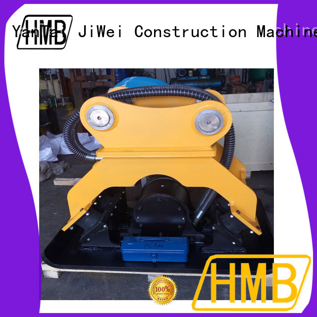 HMB Large capacity hydraulic plate compactor Exporter for loading secondary-hard stone