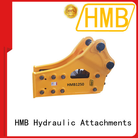HMB Low noise level hydraulic rock hammer Suppliers for Highway