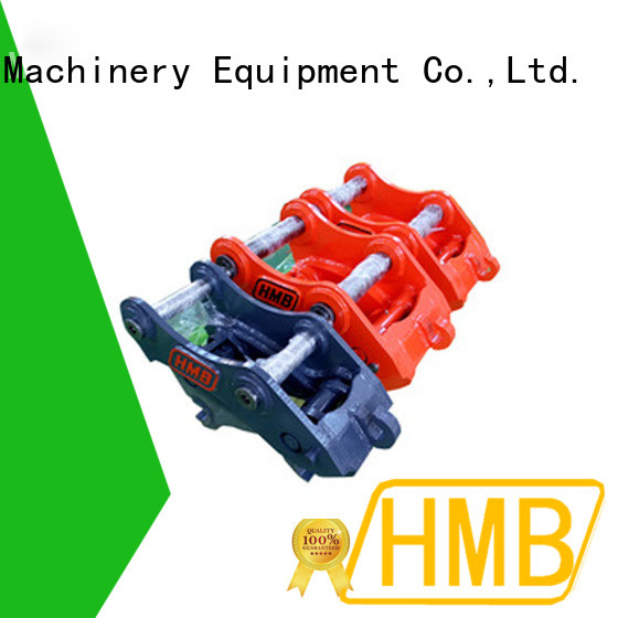 HMB higher safety quick hitch coupler for business for connect attachments buckets