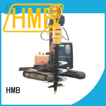 HMB High-quality earth auger attachment manufacturers for Concrete crushing