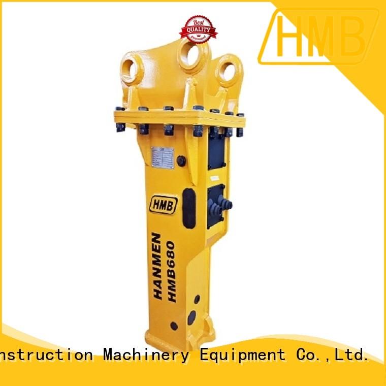 HMB mega impact working power hydraulic breaker supplier for excavator