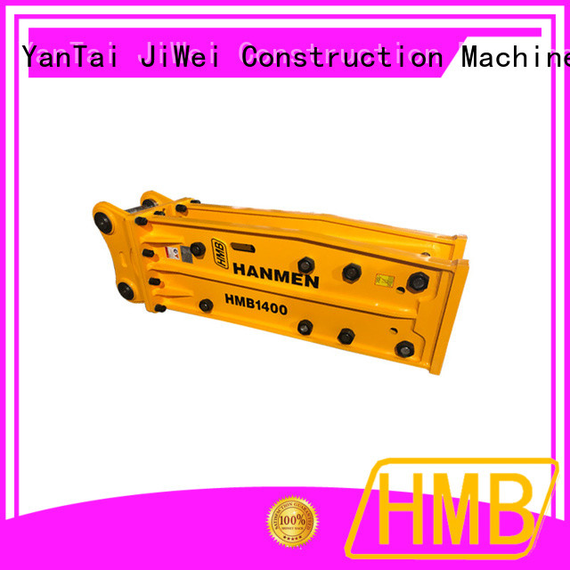 HMB Best hydraulic rock hammer for excavator factory for Concrete crushing