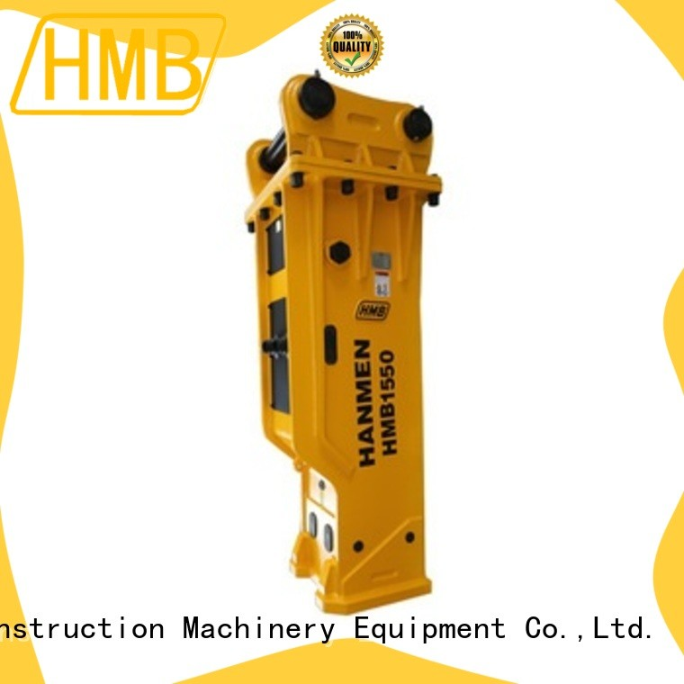HMB hydraulic attachment services Supply for tunneling