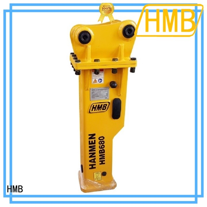 HMB breaker excavator Exporter for broken concrete pavement