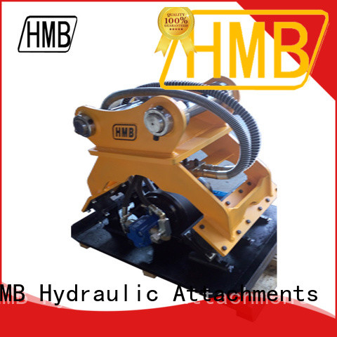 HMB excavator hydraulic compactor company for loading weathered rock