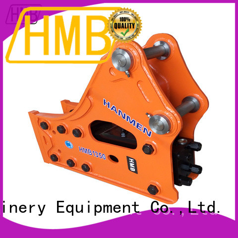 HMB safe and convenient hydraulic excavator attachments wholesale for Construction
