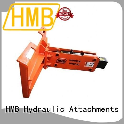HMB hydraulic rock breaker price Supply for Highway