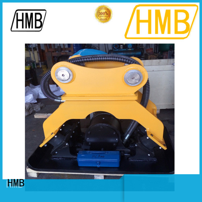 high efficiency hydraulic plate compactor excavator Oem for loading of hard soil
