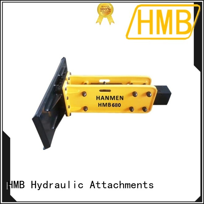 HMB Wholesale hydraulic breaker hammer attachment in China for Mining