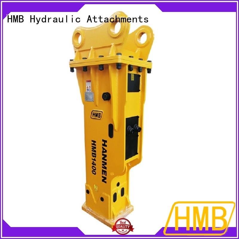 More convenience hydraulic hammer for excavator Suppliers for bridge demolition