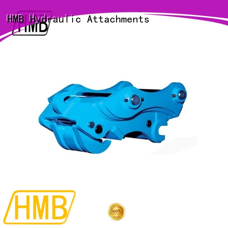 HMB New excavator quick attach coupler factory for grabs