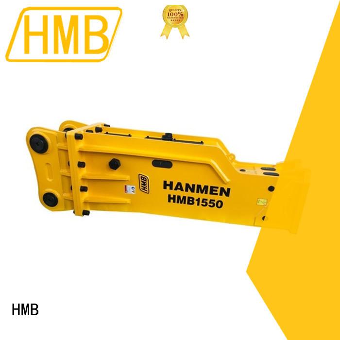 HMB Latest excavator rock breaker Oem for subgrade compaction