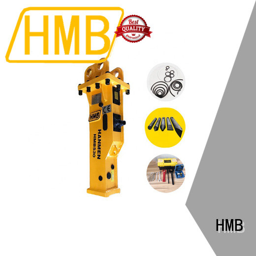 HMB excavator hydraulic hammers for sale in China for broken concrete pavement
